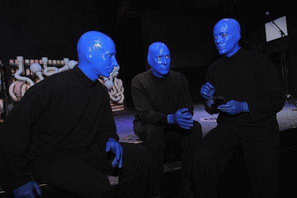 Blue Man Group, image via Zimbio.com