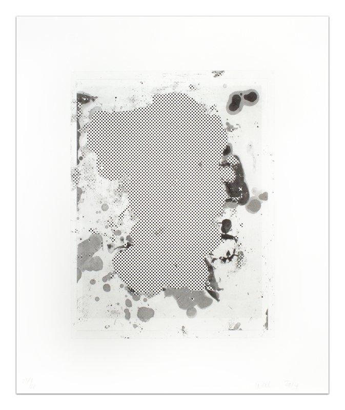 Christopher Wool, Portraits (b/w), 2014.