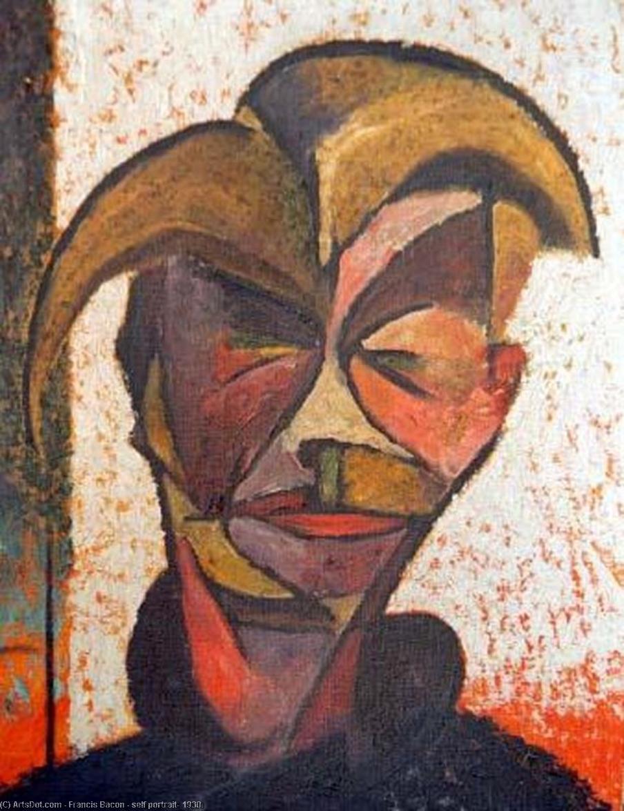 Francis Bacon, Self Portrait, 1930, immagine via Wikioo
