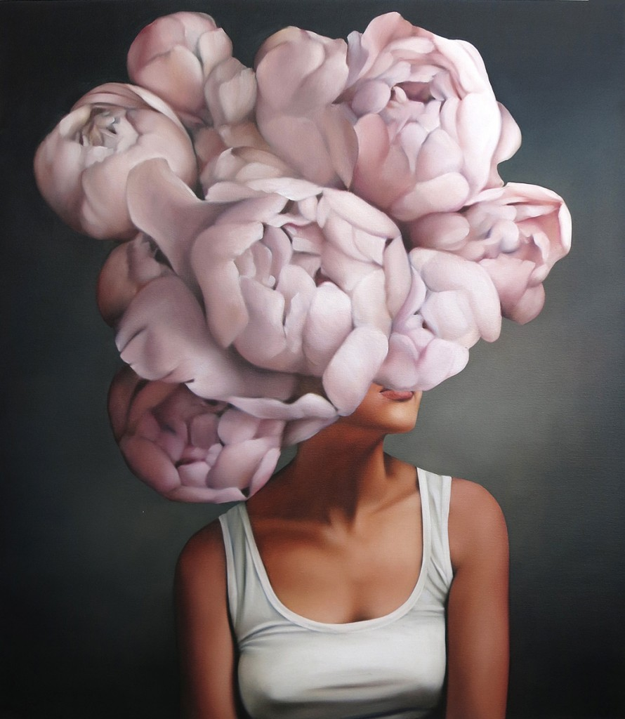 """Amy Judd """"Wistful Blooms"""", Hicks Gallery."""