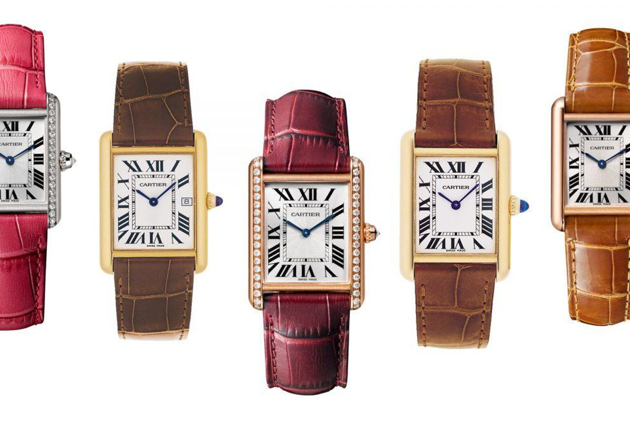 The Cartier Tank watch. Image: Forbes