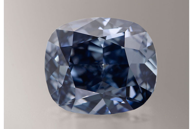 The Blue Moon går ut på auktion hos Sotheby's i november och förväntas sälja för 255 miljoner kronor.