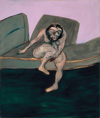 bacon-seated-woman