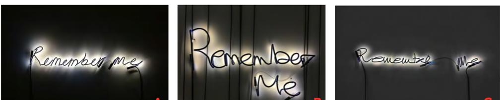 Steve McQueen (英國)來自M&T收藏。作品名稱:「Remember Me」