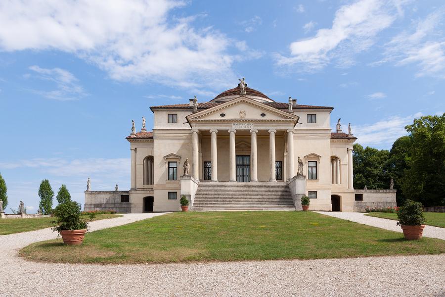 Die Villa Rotonda bei Vicenza - Erbaut von Andrea Palladio 1566 | Foto via italymagazine.com
