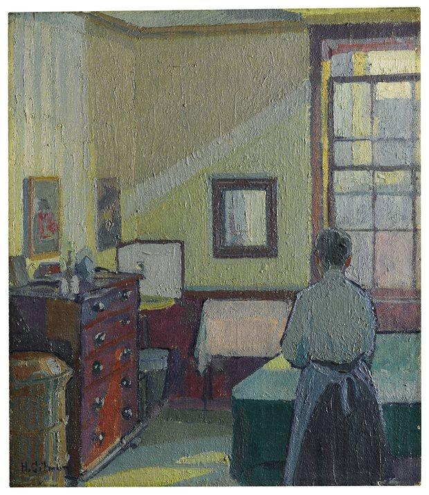 Harold Gilman, Interior (Mrs Mounter) Image: Sotheby's