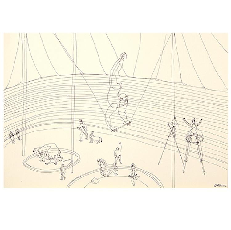 """Calder's Circus"", 1964, portfolio of 16 offset prints, sold for $15,600"