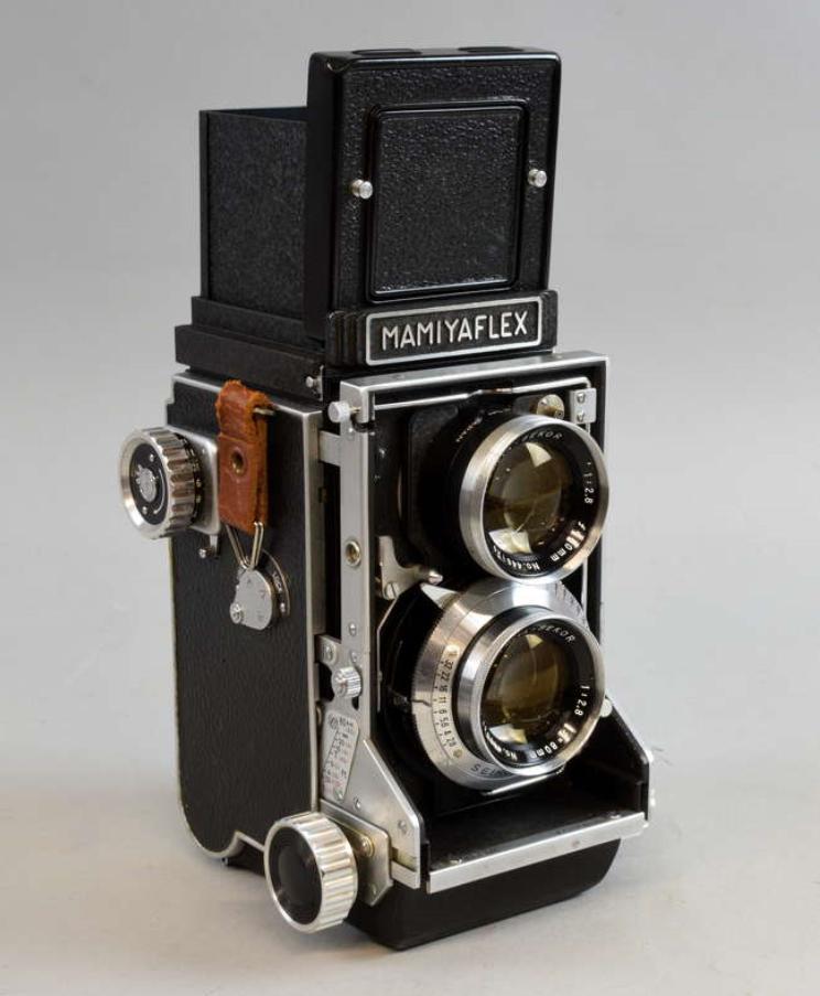 Cámara MAMIYAFLEX C Professional con lente de 80 mm Seiko