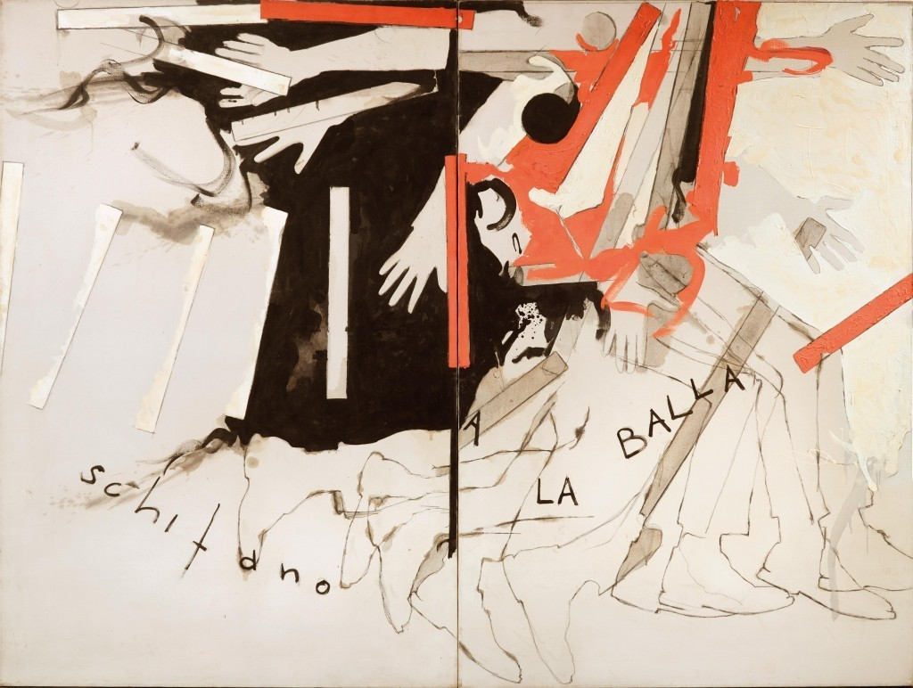 """Mario Schifano, """"A La Balla"""", 1965. Foto: Dorotheum Mario Schifano, """"A La Balla"""", 1965. Foto: Dorotheum"""