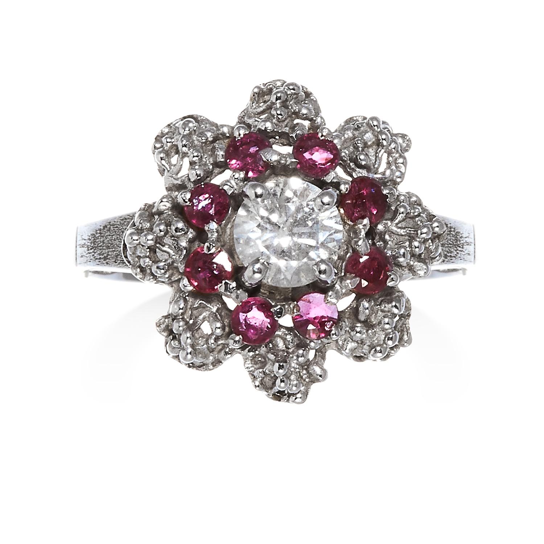Diamond and Ruby Ring. Photo: Elmwood's
