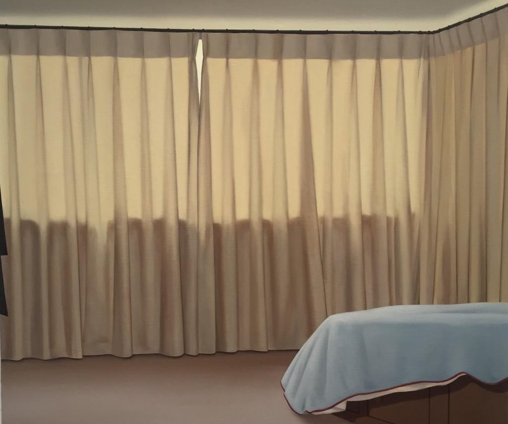 Patrik Andiné Oljemålning 20x30 cm 2015.