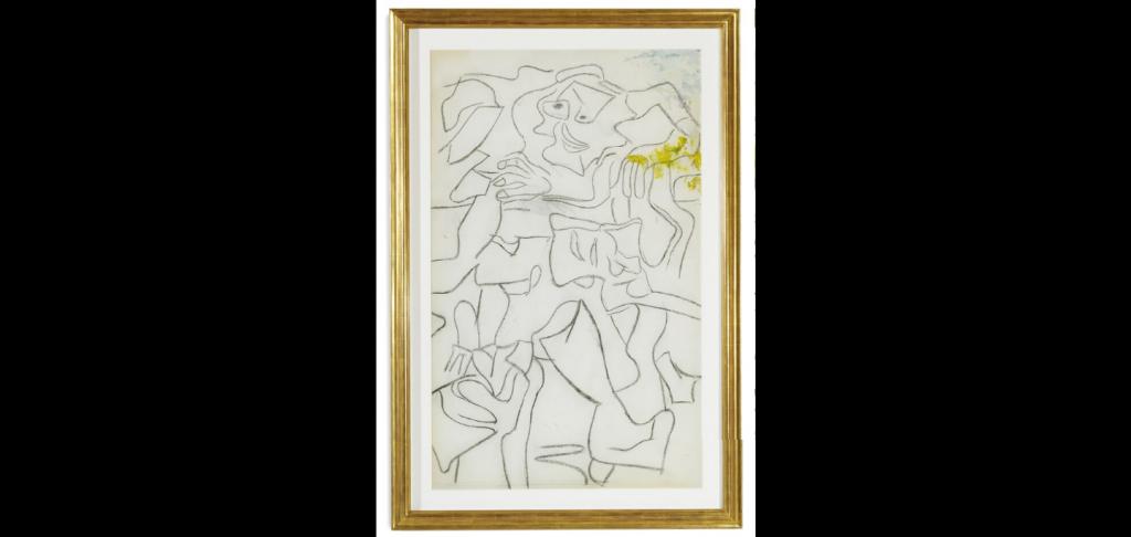 Willem de Kooning, Untitled, anni '70.