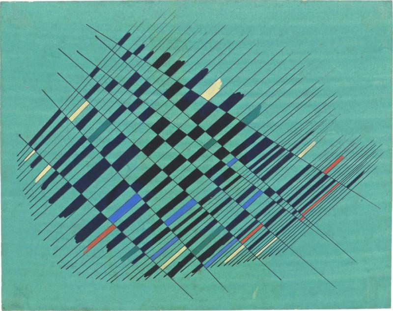 """Alejandro Otero """"Studie 2"""" från 1952. Foto: Moderna Museet."""