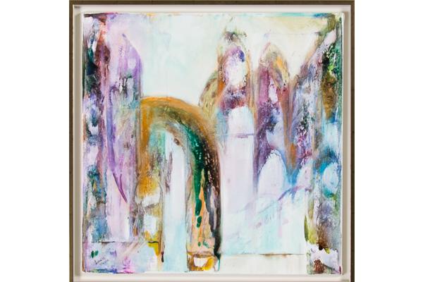 Oljemålning, Louise Hävre. Galleri Melefors. Pris: 5300 kronor.