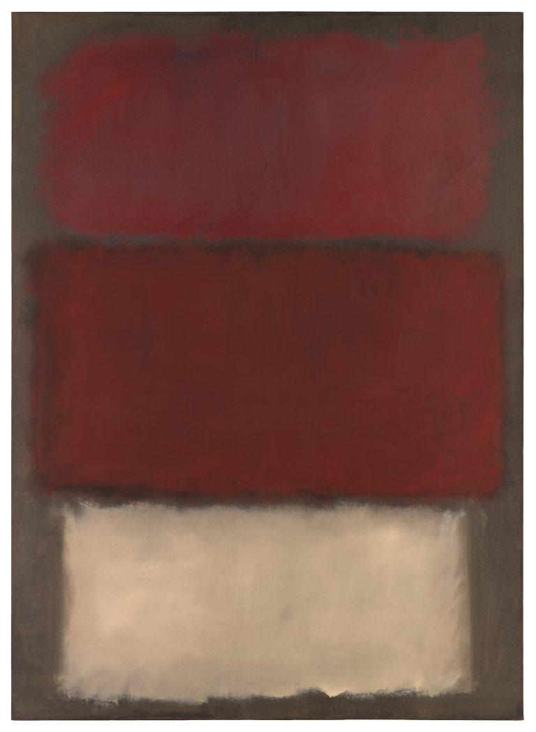 Sans titre, Mark Rothko, 1960, Musée d'art moderne de San Francisco ©1998 Kate Rothko Prizel et Christopher Rothko / Société de défense des droits des artistes (ARS) New York, photo par Katherine Du Tiel