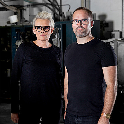 Eva Dahlgren och Alexander Lervik. Foto: Bukowskis
