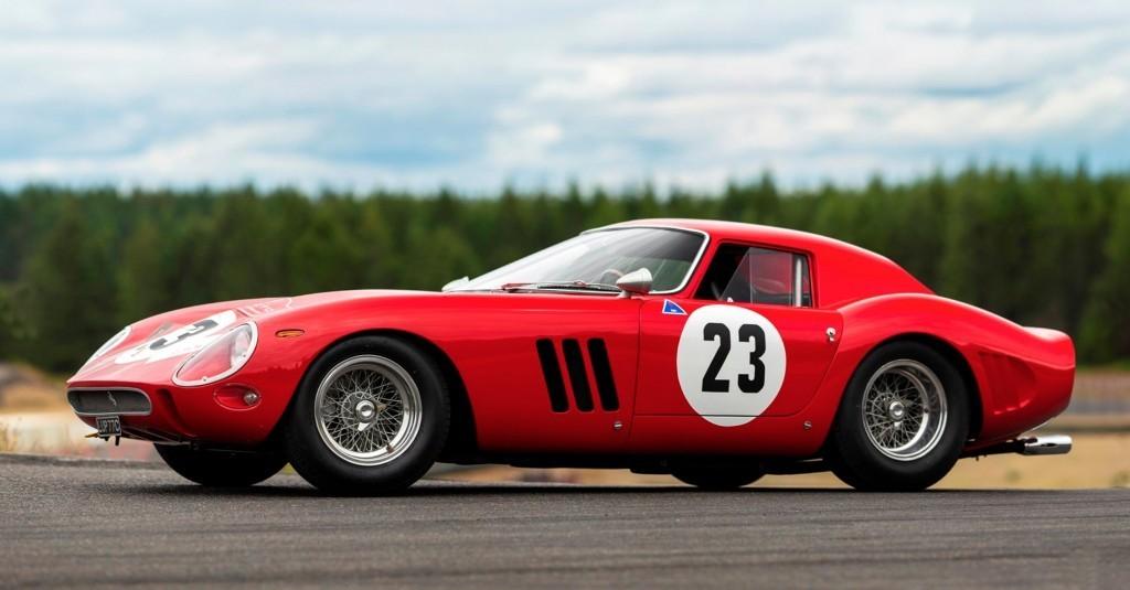 Ferrari 250 GTO, 1962. Immagine Courtesy of Bonhams