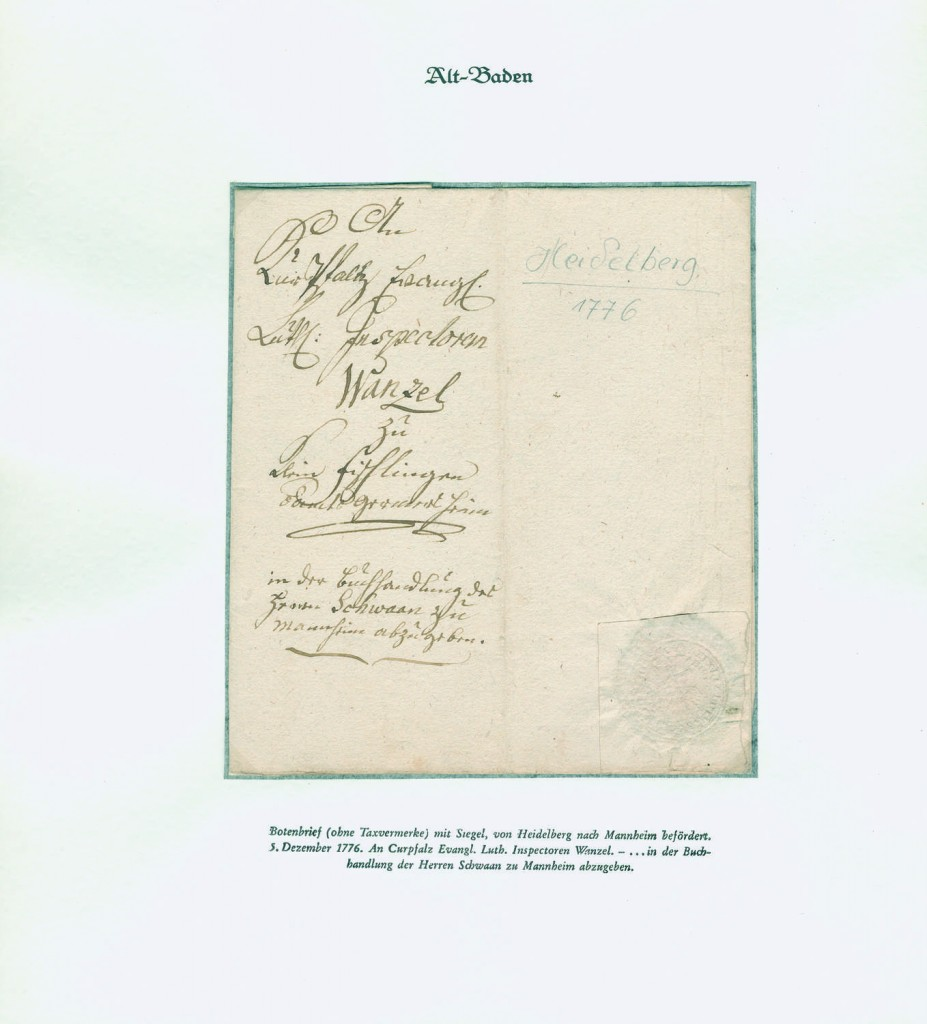 Sammlungen und Posten Motive - Sammlungen - Heidelberg 1744/1871 Ausruf: 4.000 EUR