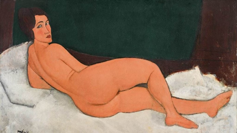 Nu Couché, Amedeo Modigliani. Foto: Sotheby's.