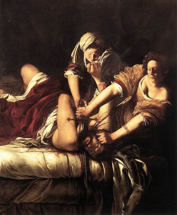«Judith et Holopherne » 1614-1620. Image via Wikimedia Commons