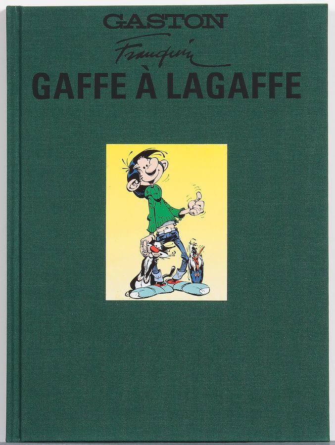 Gaston, Gaffe à Lagaffe, tirage de tête n°/800 Banque Dessinée