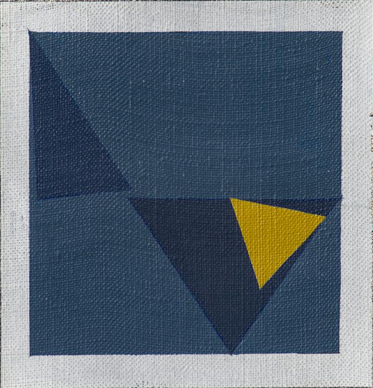 Arturo Bonfanti, MI.11,1964, Olio su tela.