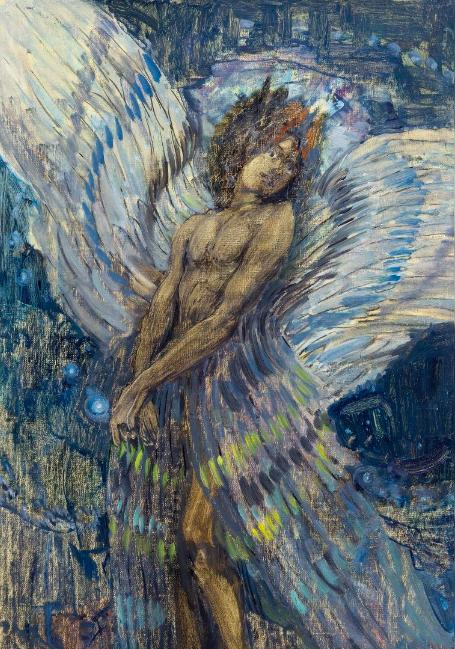"""Petrov-Vodkine, """"Démon"""", 1904"""