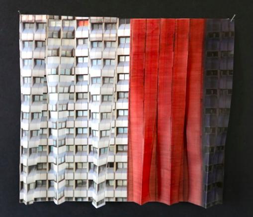 Sans Titre, Impresion photographique papier sur Pergamano et mat, 50 x 50 cm, exemplaire unique