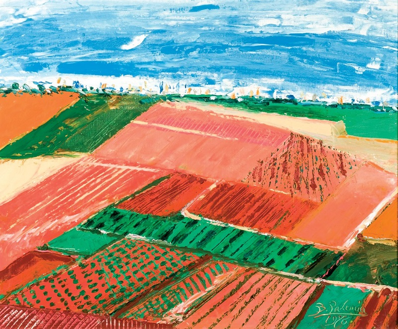 BENJAMÍN PALENCIA. Tierras rojas