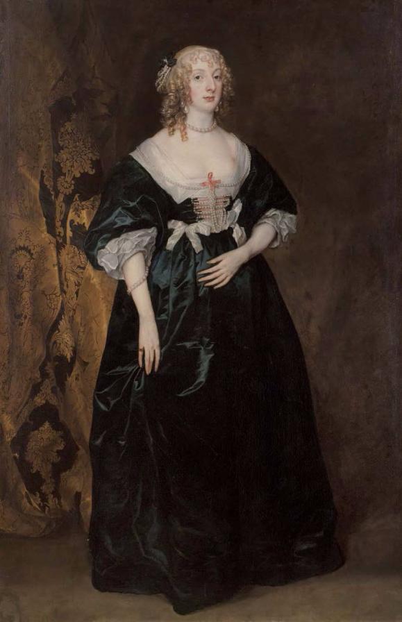 Sir Anthony van Dyck Portrait d'Anne-Sophie, Comtesse de Carnavon