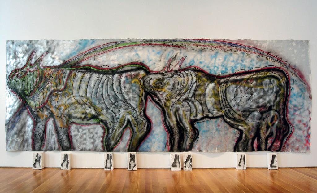 Mario Merz, «Bison», image ©Tajan