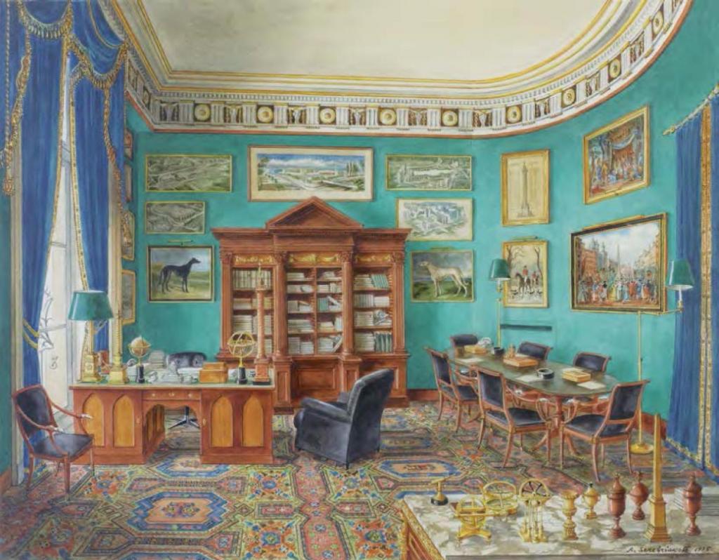 Alexandre Serebriakoff Nescoutchnoïe Le bureau de Robert de Balkany Place Vendôme Leclere