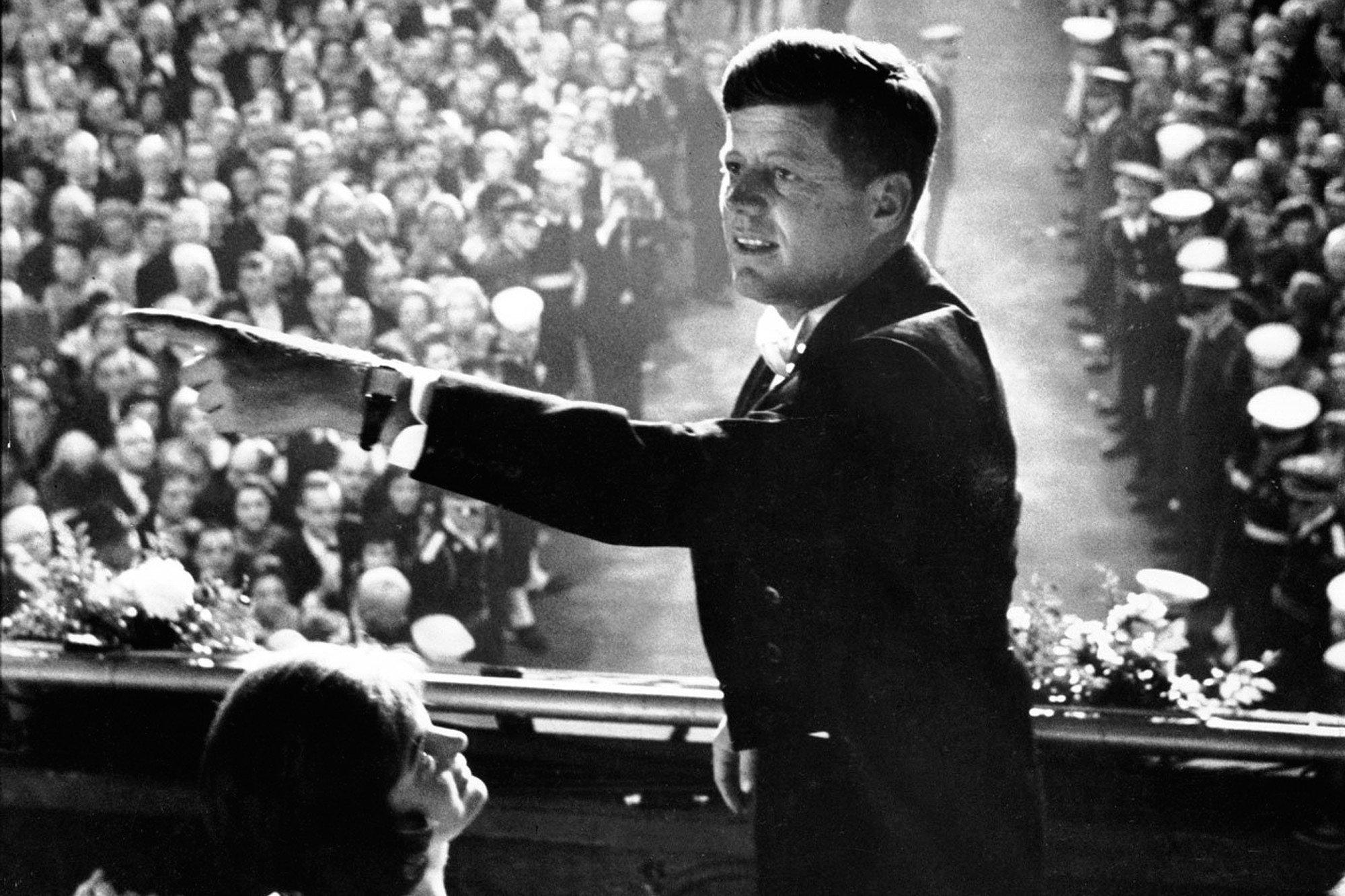 John F Kennedy 1961. Bild: acollectedman.com