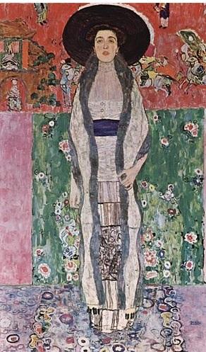 Adele Bloch-Bauer II målad av Gustav Klimt
