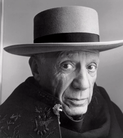 Picasso, La Californie, Cannes, 1957.  IRVING PENN 1917-2009  Estimation Basse: 5 000 €
