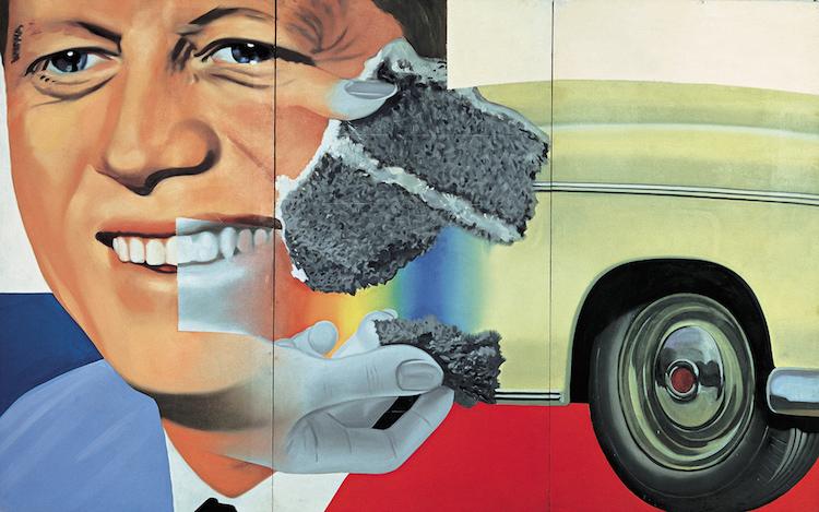 President Elect (1960-61) James Rosenquist Bild via learn.columbia.edu