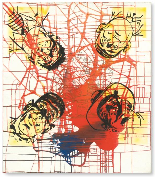 SIGMAR POLKE (1941 Oels - 2010 Köln) - Die Schmiede, 1975 Sotheby's