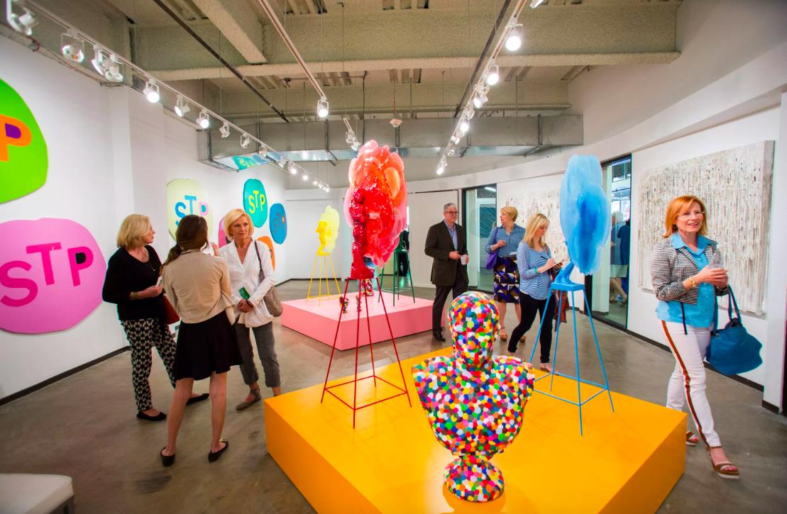 Dallas Art Fair. Image: Mei-Chun Jau via Observer