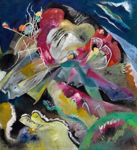 Wassily Kandinsky (1866 - 1944) Bild Mit Weissen Linien Image: courtesy Sotheby's