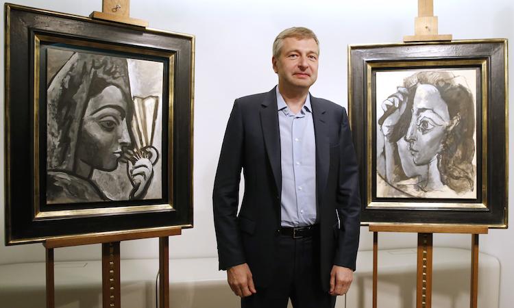 Dmitry Rybolovlev, konstsamlare. Foto: theguardian.com