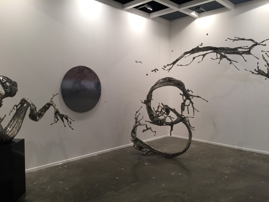 Skulptur av Zheng Lu.