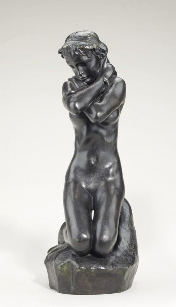 Jeune fille au serpent (circa 1886) Auguste Rodin Image via artnet.com