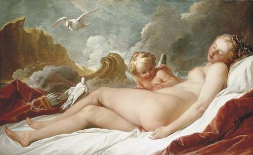 François Boucher - Le sommeil de Vénus Adjugé 1,31 millions d'euros chez Christie's à Londres le 6 juillet 2006