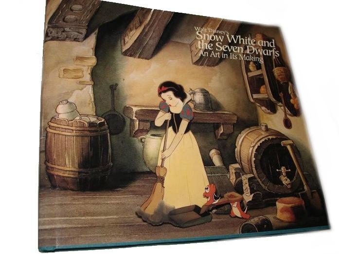 Snow White and the Seven Dwarfs - An Art in Its Making. Erstausgabe (1994)