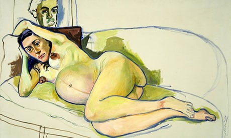 Touching, tender and a bit wild ... Alice Neel's Pregnant Woman (1971)Photograph: Estate of Alice Neel