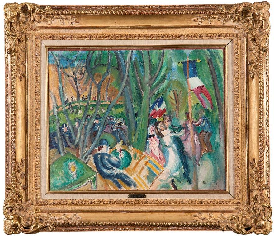 Raoul Dufy Le bal populaire, 1906 Galerie Dreyfus