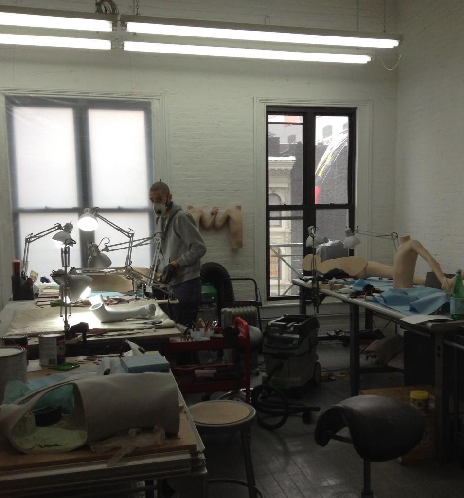 Anders Krisars studio på Canal Street