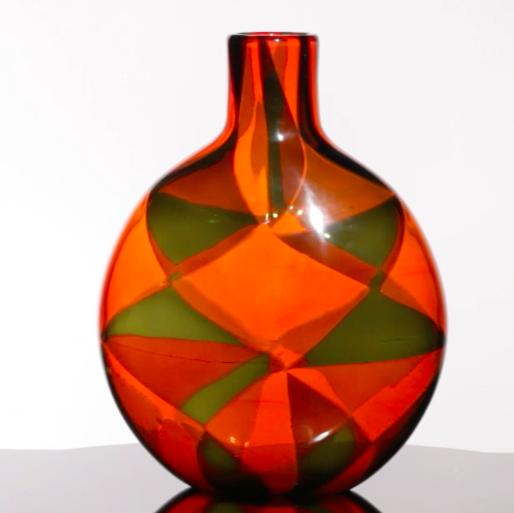 Vase, Ecole Barovier Wright Auction
