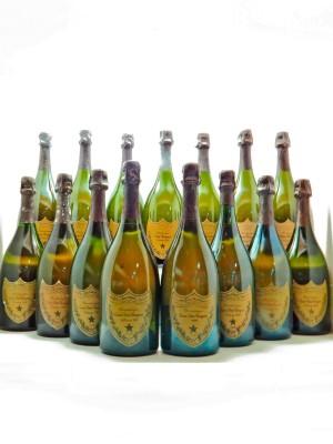 Dom Pérignon Moët & Chandon  15 bouteilles vintage de 1980 à 2004 iDealwine