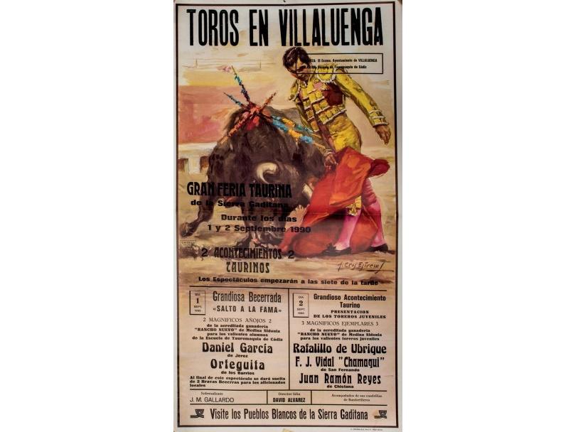 25 carteles de 1972 a 1998 de diferentes plazas de toros. España (siglo XX)